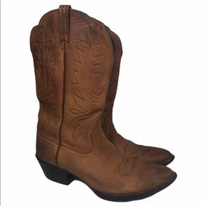 Ariat Heritage R Toe Western Cowboy Boots